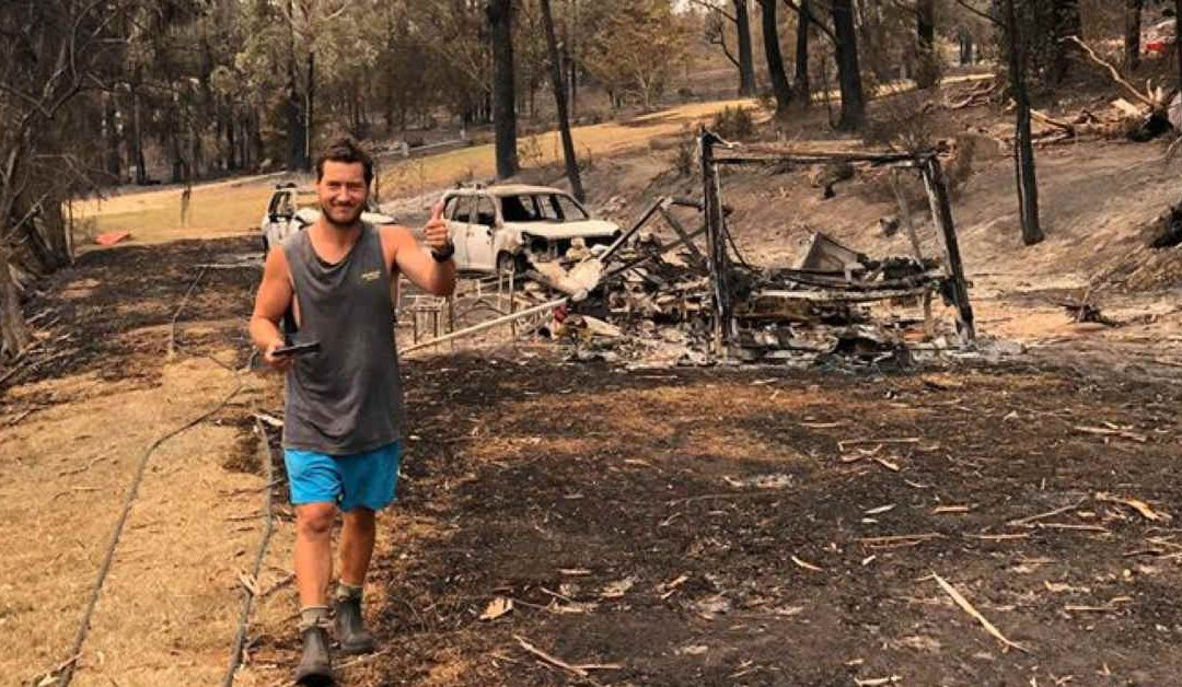 """""""It Happened So Fast"""" – How a Pastor and His Family were Saved in a Firestorm"""