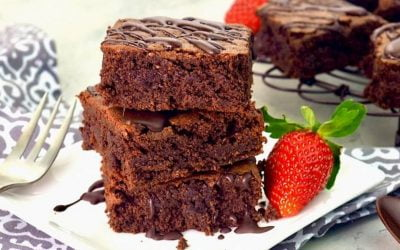 Healthy Fudgy Chocolate Brownies